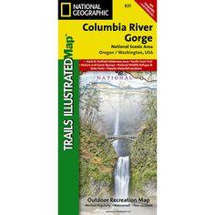 Columbia River Gorge, Columbia River Gorge National Scenic Area Map