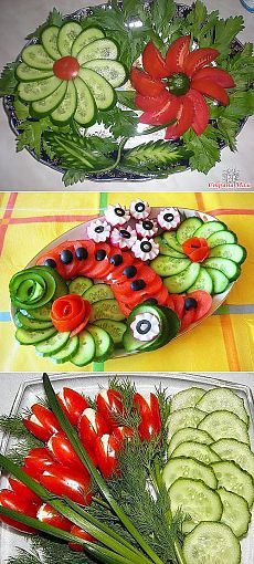 Pasta recetas ensaladas Ideas for 2019 Veggie Platters, Veggie Tray, Food Platters, Vegetable Trays, Fruit Decorations, Food Decoration, Cute Food, Good Food, Awesome Food