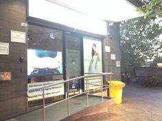 Shop Window Display laser clinic