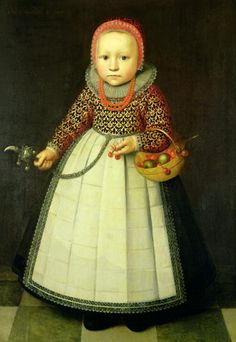 Portrait of a Young Girl (with coral necklace) , Adriaen van der Linde