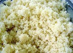 Attieké, a cassava-based staple food from Côte d'Ivoire.