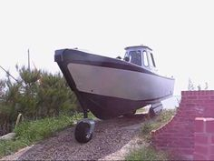 Self travel trailer Beach Trailer, Power Boats, Boat Building, Transportation, Product Launch, Youtube, Travel, Viajes, Motor Boats