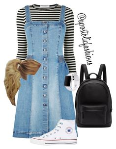 """Apostolic Fashions #1852"" by apostolicfashions on Polyvore featuring philosophy, STELLA McCARTNEY, Converse, Apple and PB 0110"