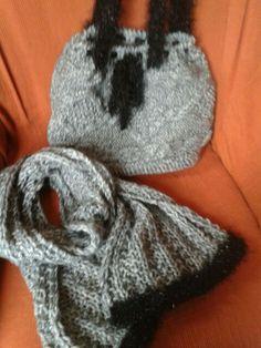 Bolso y bufanda