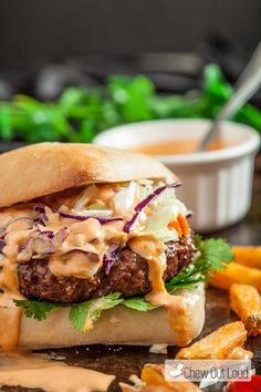 These Asian Burgers with Sriracha Mayo are packed with big flavors inside the patties, so every bite is delicious. Juice, tender, incredible.