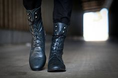 Valentines Day Sale, Stella, Lace Up Boots, Riding  Boots, Dark Blue Flats Shoes, Winter Shoes on Etsy, $269.00