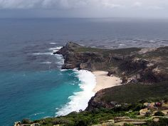 The Cape of good Hope, South Africa - the most southern point of the continent of Africa