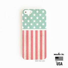 #iPhone case - Made in the USA :) Fourth of July Independence Day