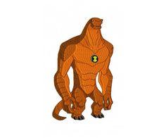 Ben10 hero Humungousaur machine embroidery design for instant download
