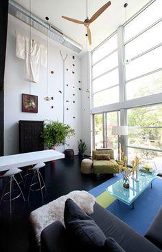 Murdock Solon Architecture - Carroll Gardens Townhouse - Living Room