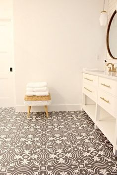 love the floor tiles