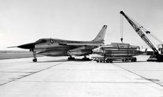 B-58 aircraft and bombs. One of the best looking planes ever made. And damn fast.