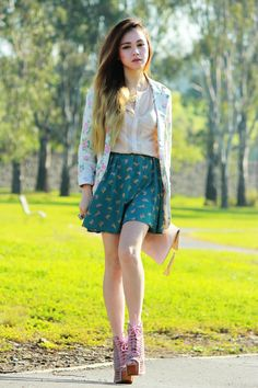 Cat Print - Melbourne Australia Fashion Blog - By Chloe Ting