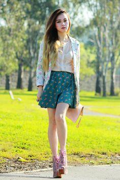 Cat Print - Melbourne Australia Fashion Blog - By Chloe Ting