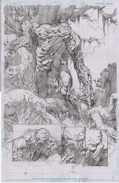Swamp Thing by David Finch
