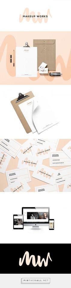 Makeup Works Branding by Faraz Shaikh   Fivestar Branding Agency – Design and Branding Agency & Curated Inspiration Gallery