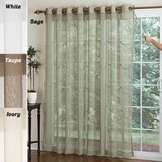 Airy Mesh Curtains @ Fresh Finds