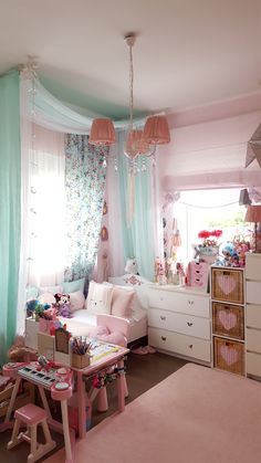 My new style decor canopy bed kids bedroom
