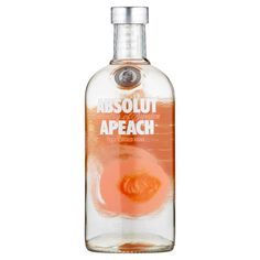Absolut Apeach, Peach Vodka, Medicine Bottles, Water Well, Vodka Bottle, Web Design, Pure Products, Drinks, Packaging