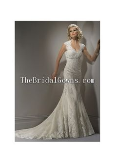 Lace Sweetheart Open back Column Bridal Gowns