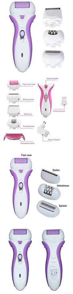 Epilators and Electrolysis: 4-In-1 Callus Remover Electric For Women Leg Arm Bikini Epilator Shaver Hair To -> BUY IT NOW ONLY: $35.89 on eBay!