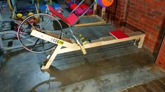 DIY rowing machine with Odometer/Speedometer! - YouTube Homemade Gym Equipment, Home Workout Equipment, Go Kart Plans, Rowing Machines, Pig Farming, Garage Gym, At Home Workouts, Exercise, How To Make