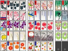 Parish Cherry custom hanafuda deck