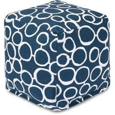 Majestic Home Goods Fusion Cube, Blue