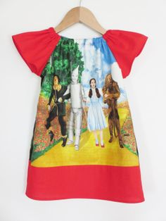 Hey, I found this really awesome Etsy listing at https://www.etsy.com/listing/128575132/children-clothing-girls-wizard-of-oz