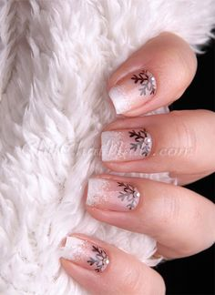 Easy-Simple-Winter-Nail-Art-2013-2014-For-Beginners-Learners-9.jpg 450×618 pixels