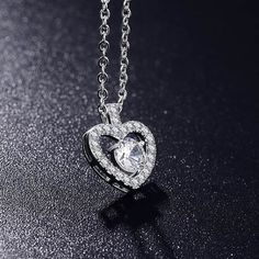 Aaishwarya Cupids Love Platinum Plated White AAA Cubic Zirconia Studded Heart Pendant/Necklace Chain @ Rs. 399/- #heartpendant #pendantchain #pendantnecklace #heartpendantchain #heartpendantnecklace #CZpendantchain #CZheartpendant #chicjewelry #fashionjewelry #romanticjewelry #valentinedaygifts #lovependant #platinumplatedpendant #platinumheartpendant