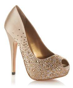Salvador heels in champagne Sale - Benjamin Adams