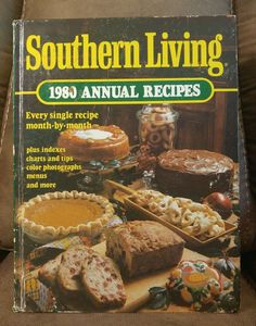 $16.95 OBO! Southern Living Cook Book 1980 Annual Recipes Oxmoor HC Vintage Collectible