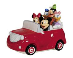 MICKEY AND FRIENDS ROAD TRIP JAR http://buyapothecaryjars.com/disney-cookie-jars/ #mickeymouse #mickey #mouse #cookie #jar #disney #jars #buyapothecaryjars