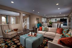 Trailside Point Model Great Room Plan 3267 #KBhome #Arizona #interiordesign #currentdesignsituation #moderndesign #greatrooms #openspace #azrealestate #dreamhome #realestate #home