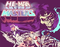 "Check out new work on my @Behance portfolio: ""he man masters of the universe"" http://be.net/gallery/32380925/he-man-masters-of-the-universe"