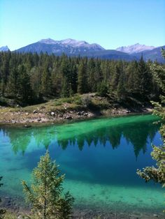 Valley of the Five Lakes; Jasper, Canada