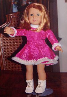 American girl doll skating dress #americangirl