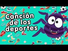 Los deportes - Canciones Infantiles - Doremila - YouTube Spanish Notes, Spanish 1, Spanish Lessons, Elementary Spanish, Teaching Spanish, Vocabulary Instruction, Apps For Teachers, French Education, Math Jokes