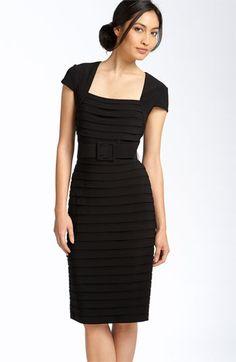 Adrianna Papell Shutter Pleat Matte Jersey Dress from Nordstrom