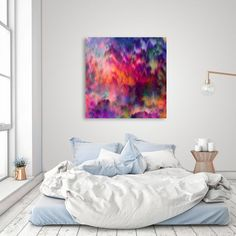 «Sunset Storm», Numbered Edition Canvas Print by Amy Sia - From $49.00 - Curioos