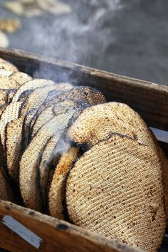 There's supermarket matzo, and then there's shmura, or guarded matzo, which is often preferred by observant Jews for Passover and which is supervised at every step, from before harvest to the baking. (Photo: James Estrin/The New York Times)