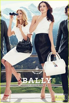 Campaign for Bally with Miranda Kerr