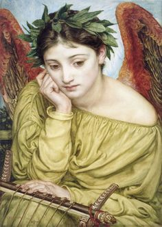 """Erato, Muse Of Poetry"", 1870 Sir Edward John Poynter"