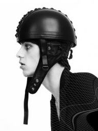 IC: Natalia Brilli Helmet - StyleZeitgeist