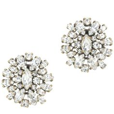 J.Crew Crystal shimmer earrings ($58) ❤ liked on Polyvore featuring jewelry, earrings, accessories, j.crew, crystal jewelry, earrings jewelry, polish jewelry and j crew jewelry