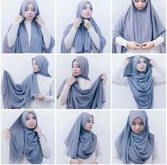 What is hijab? Hijab is the head scarf which is usually worn by the Muslim women. Many of the girls Tutorial Hijab Pashmina, Square Hijab Tutorial, Simple Hijab Tutorial, Hijab Simple, Hijab Style Tutorial, Hijab Chic, Hijab Elegante, Stylish Hijab, Casual Hijab Outfit