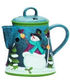 Yankee Candle (Bougie) - Love Melts - Tea Pot Brûleur de Cire: Amazon.fr: Cuisine & Maison