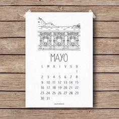 Calendario Mayo 2016 descargable gratis