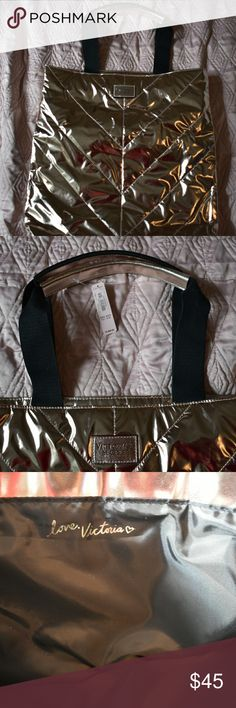 *SALE!!* Victoria's Secret Rosegold Tote NEW WITH TAG. Victoria's Secret Bags Totes